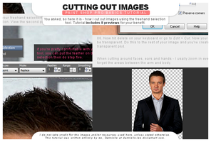 Tutorial 032: Cutting Out Images by dannielle-lee