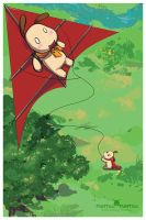 Kite Flight by nemu-nemu
