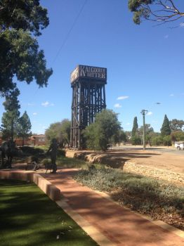 Old Railway Water Tower at Merridin by The-ARC-Minister