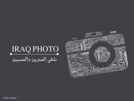 iraq photo Typography by DLO5