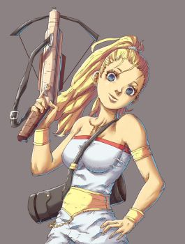 Marle - Chrono Trigger by Mick-cortes