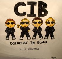 CIB Coldplay In Black by TearsOfStarryDream