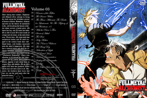 Fullmetal Alchemist DVD cover3 by cromossomae
