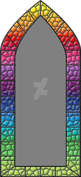 Masterpiece Stained Glass Panel Template by Maleficent84
