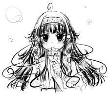 Alluka Zoldyck rough by freedomthai