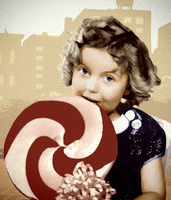 Shirley Temple in Liberty City by huckleberrypie