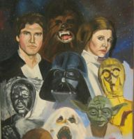 The Empire Strikes Back,detail by Paulstered