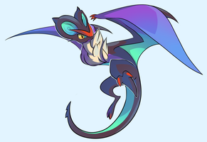 Noivern by Stickaroo
