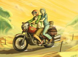 Eureka Seven - Road to Paradise by Ticcy