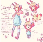 Usagi the garden witch by Mocchichiin