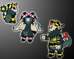 Burly Ghost Faun Evolution by chibimaker