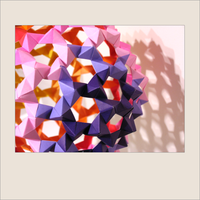 origami :: super buckyball by italo