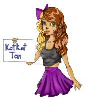 Katkat-tan colored entry by xCatFace