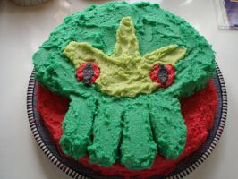 Cthulhu Birthday Cake by blackafter