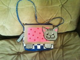 Duct Tape Nyan Cat by UnderCoverCottonswab