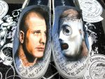 Corey Taylor Custom Shoes by danleicester
