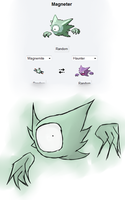 Pokefusion: Magneter by solobird32