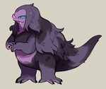 Little Purple Monster Adoptable [$25usd] by Andcetera