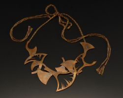 Ginkgo Necklace 2 by CaitieSellers