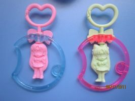 Sailor Moon food keychain item by Jelenity