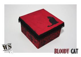 Bloody Cat by WoodStockArtBR