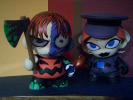 Munny Solomon and Lucy by KidNotorious