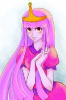 Princess Bubblegum by elleinead