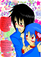 Your my Valantines by sephiroth72603