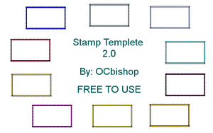 Stamp Templete 2.0 by OCbishop