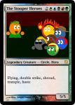 The Stooper Heroes Magic-Card by Captain-Pyro
