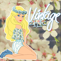 Vintage Chic Doll. by iCuteLight