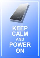 Keep Calm And Power On by christohpera