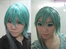 Miku/Mikuo Hatsune cosplay Makeup Tutorial by ccippicouz