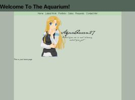 Website for Aquaqueen27 by Youreunwelcome