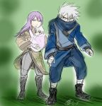 Kakashi and Anko protect by KickBass77