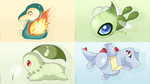 Johto Cuties by SeviYummy