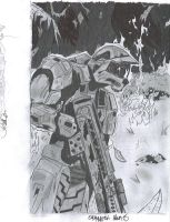 Master Chief by izenhime