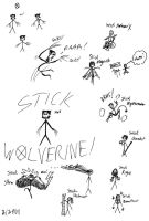 Stick X-Men by EnfantDeRiviere