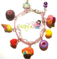 Sweet Dream - charm bracelet by colourful-blossom