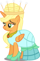 Princess Applejack by Canterlotian