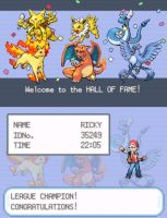 LeafGreen - Kanto League Champion by Ricky47