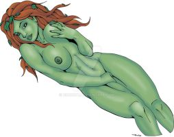 Poison Ivy Nude 4 Color by ESO2001