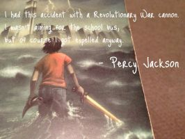 Percy Jackson Quote #3 by MoonlightMistress1