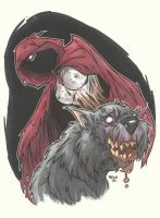 EVIL DEAD FAIRY TALES - LITTLE RED RIDING HOOD by leagueof1
