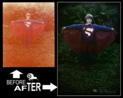 Superboy photo-restoration by backflip540