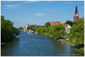 River Elblag by swiftach