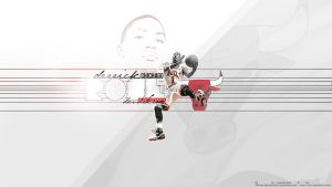 Derrick Rose Wallpaper 2 by t-ton