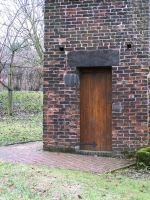 Dovecote - wooden door by RayvenStock