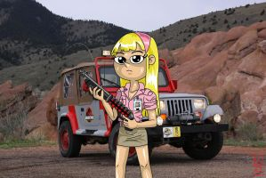 Jurassic Park Kendall by Junesguy