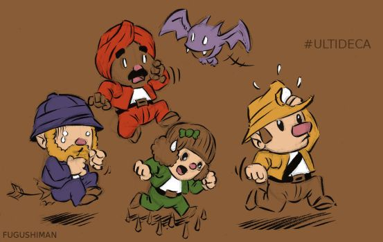 Spelunky race by fugushima